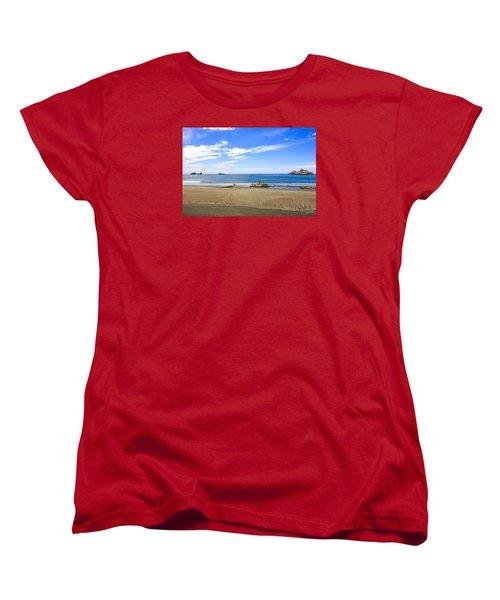 Pacific California Women's T-Shirt (Standard Cut) by Chris Smith