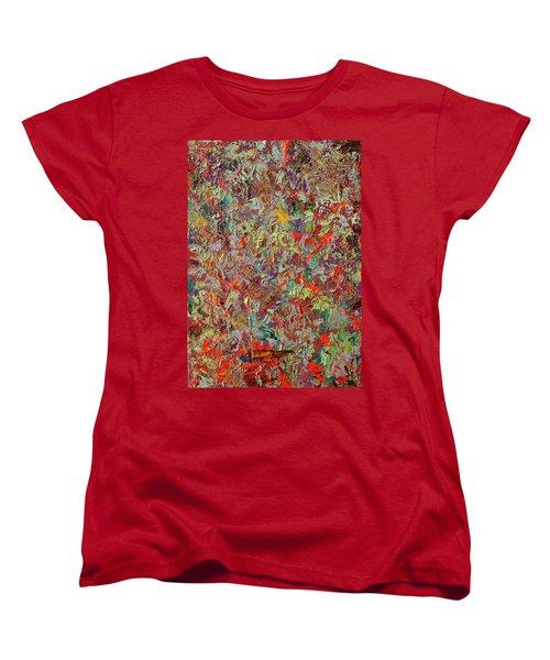 Paint Number 33 Women's T-Shirt (Standard Cut) by James W Johnson