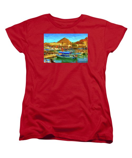 Pangas With Land's End Women's T-Shirt (Standard Cut) by Gerhardt Isringhaus