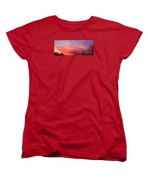 Panorama Sunset  Women's T-Shirt (Standard Cut)