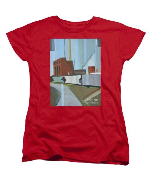 Paperboard Factory Bogota Nj Women's T-Shirt (Standard Cut) by Ron Erickson