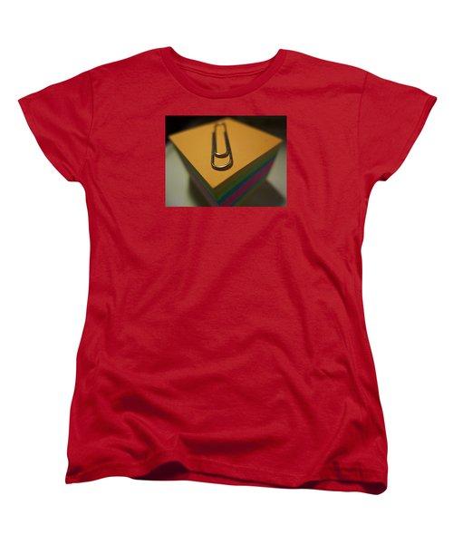 Paperwork Women's T-Shirt (Standard Cut) by John Rossman
