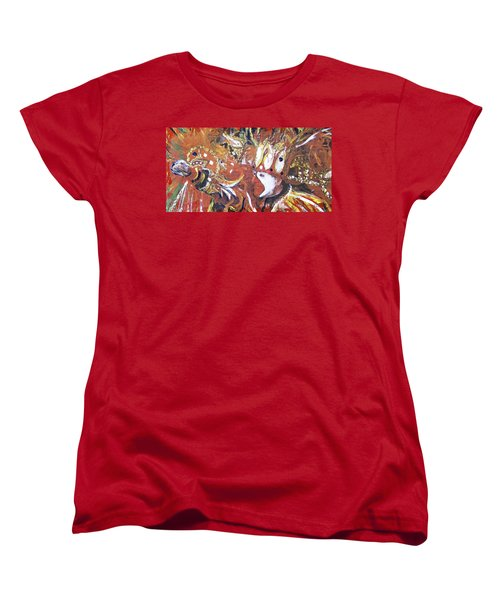 Leader Of The Mardi-gras Women's T-Shirt (Standard Cut) by Gary Smith