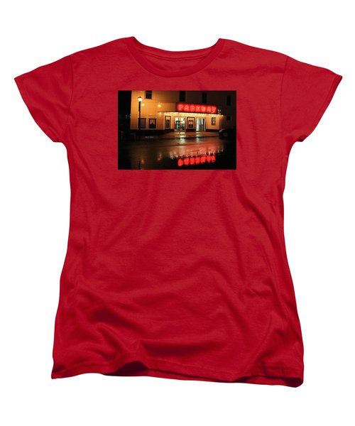 Parkway Night Women's T-Shirt (Standard Cut) by Dale R Carlson