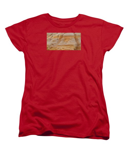 Women's T-Shirt (Standard Cut) featuring the photograph Part Of The Field 2  by Lyle Crump