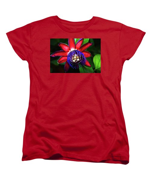 Women's T-Shirt (Standard Cut) featuring the photograph Passion Flower by Anthony Jones