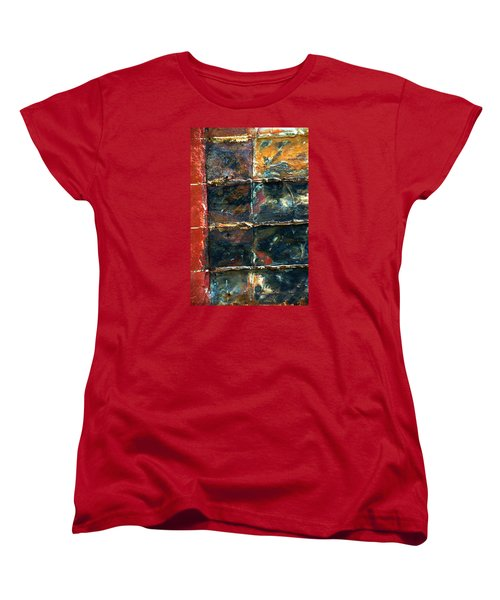 Women's T-Shirt (Standard Cut) featuring the photograph Patchworks 4 by Newel Hunter