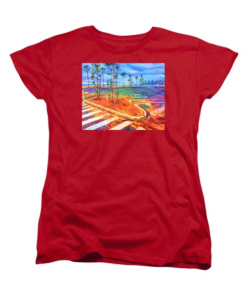 Paved Paradise Women's T-Shirt (Standard Cut) by Bonnie Lambert