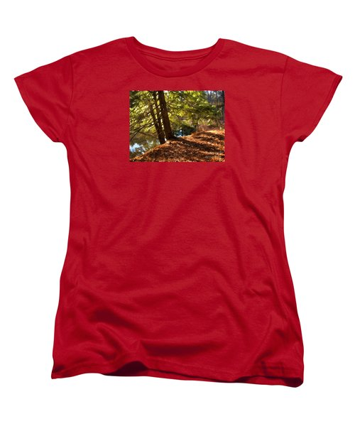 Women's T-Shirt (Standard Cut) featuring the photograph Peace On Earth by Betsy Zimmerli