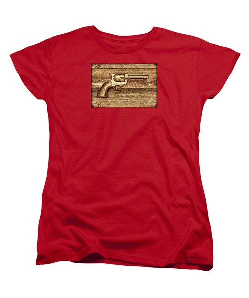 Peacemaker Women's T-Shirt (Standard Cut) by American West Legend By Olivier Le Queinec
