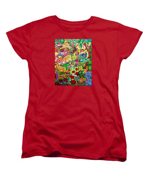 Peach Music Festival 2015 Women's T-Shirt (Standard Cut) by Kevin J Cooper Artwork