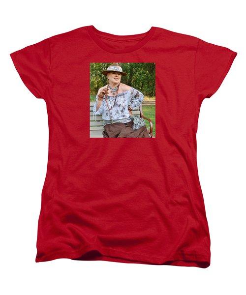 Peasant Allure Women's T-Shirt (Standard Cut) by VLee Watson
