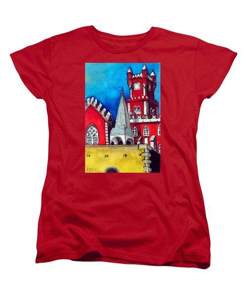 Pena Palace In Portugal Women's T-Shirt (Standard Cut)