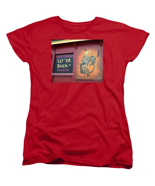 Pendleton Round Up Mural Women's T-Shirt (Standard Cut)