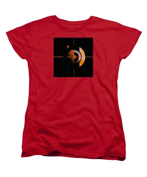 Women's T-Shirt (Standard Cut) featuring the painting Penman Original - 216 by Andrew Penman