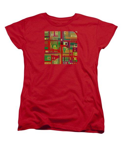Women's T-Shirt (Standard Cut) featuring the painting Penman Original-258 by Andrew Penman