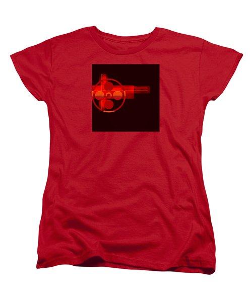 Women's T-Shirt (Standard Cut) featuring the painting Penman Original- 270 by Andrew Penman