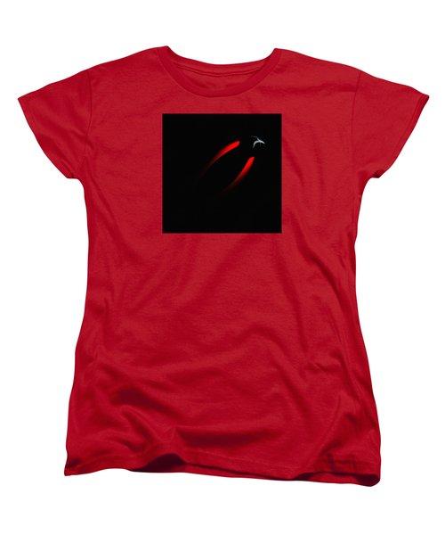 Penman Original 281 - Fleeing From The Grip Of Terror Women's T-Shirt (Standard Cut) by Andrew Penman