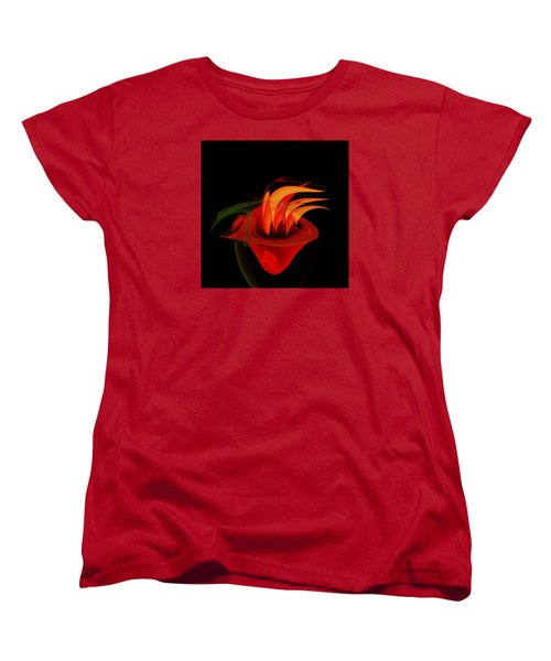 Women's T-Shirt (Standard Cut) featuring the painting Penman Original-311-when You Are Hungry by Andrew Penman