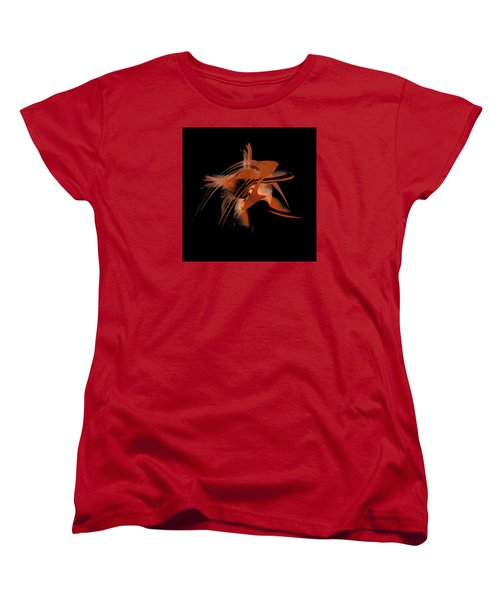 Women's T-Shirt (Standard Cut) featuring the painting Penman Original-330-by Origin-we Are All Ethnic by Andrew Penman