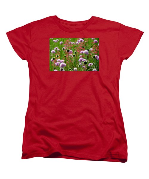 Perky Chives Women's T-Shirt (Standard Cut) by Betsy Zimmerli