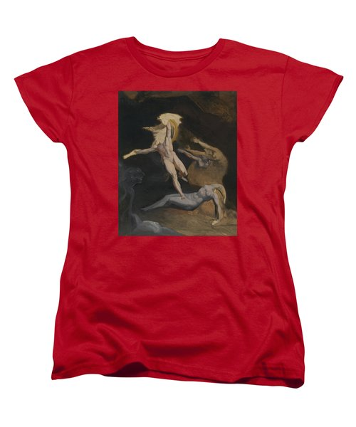 Perseus Slaying The Medusa Women's T-Shirt (Standard Cut) by Henry Fuseli