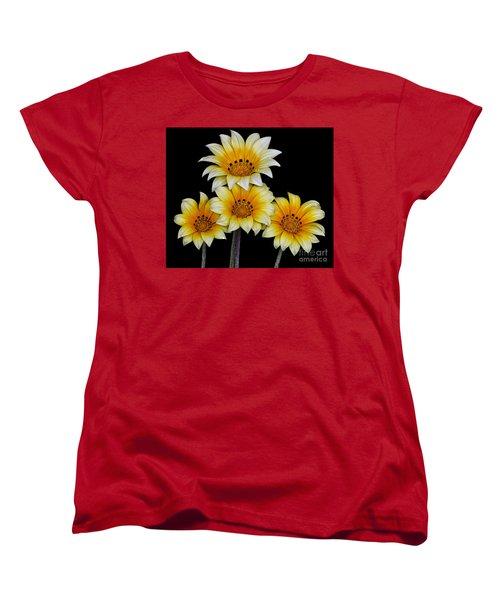 Peruvian Daisies Women's T-Shirt (Standard Cut) by Shirley Mangini