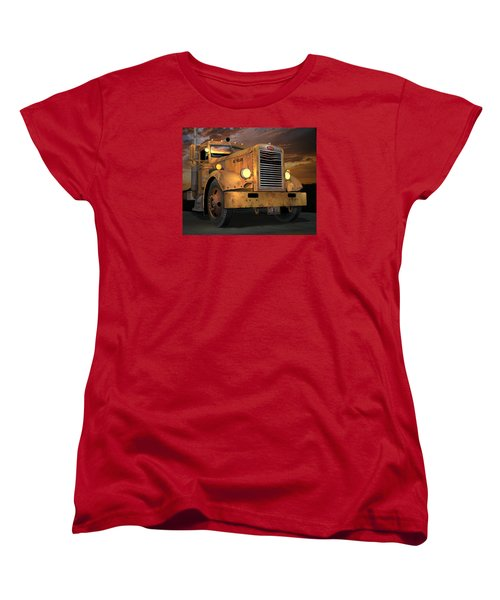 Peterbilt Ol Yeller Women's T-Shirt (Standard Cut) by Stuart Swartz