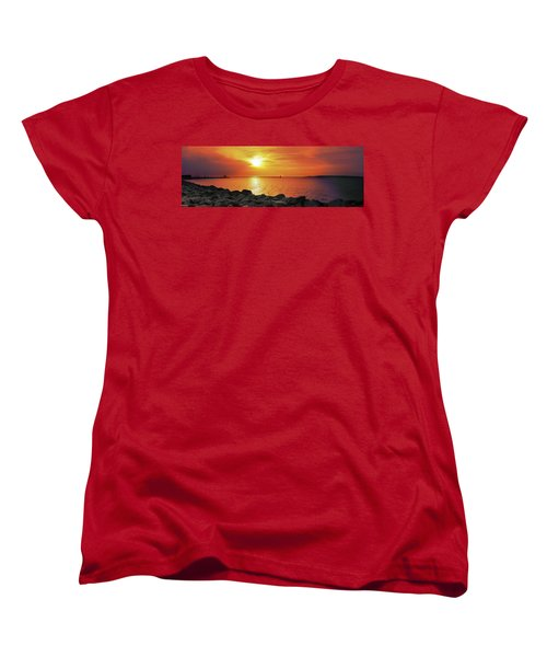 Petoskey Sunset Women's T-Shirt (Standard Fit)