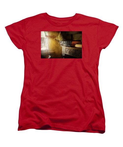 Women's T-Shirt (Standard Cut) featuring the photograph Pharmacy - The Apothecarian by Mike Savad