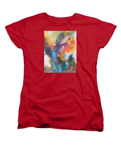 Phoenix Women's T-Shirt (Standard Cut) by Becky Chappell