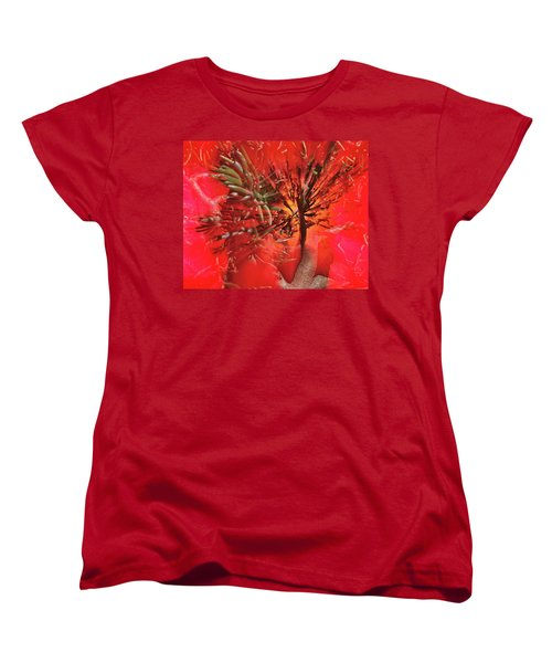 Women's T-Shirt (Standard Cut) featuring the photograph Photo Sin Thesis by Susan Capuano