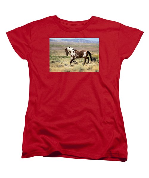 Picasso Strutting His Stuff Women's T-Shirt (Standard Cut) by Nadja Rider
