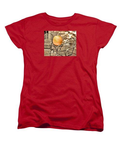 Pick A Pumpkin Women's T-Shirt (Standard Cut) by JAMART Photography