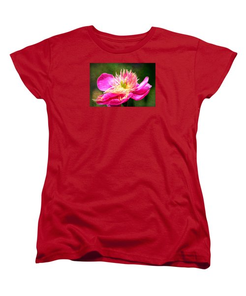 Pink Beauty Women's T-Shirt (Standard Cut) by Bonnie Bruno