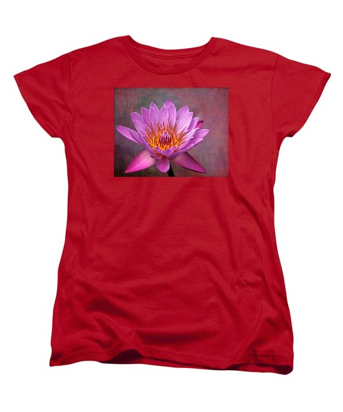 Women's T-Shirt (Standard Cut) featuring the photograph Pink Lady by Judy Vincent