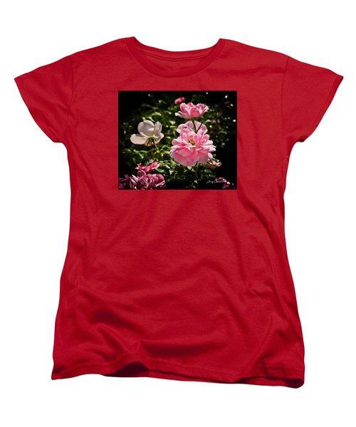 Women's T-Shirt (Standard Cut) featuring the photograph Pink Passion  by Joann Copeland-Paul