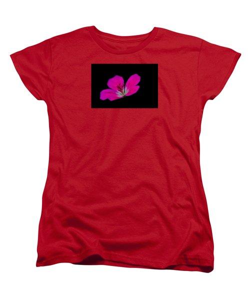 Pink Stamen Women's T-Shirt (Standard Cut) by Richard Patmore