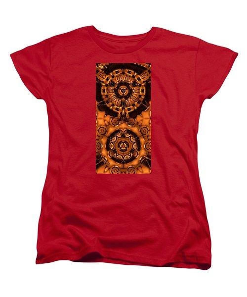 Pinyin Women's T-Shirt (Standard Cut) by Ron Bissett
