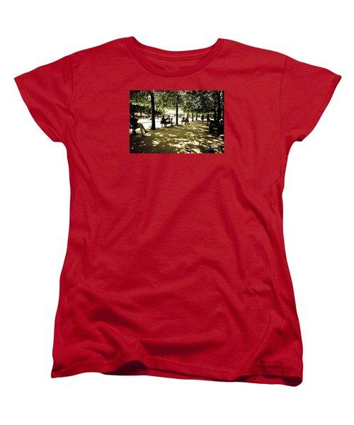 Place De Vosges Women's T-Shirt (Standard Cut) by Perry Van Munster