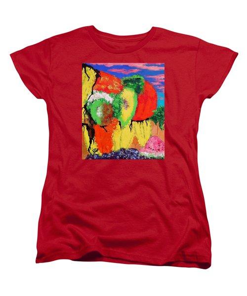 Plant Food Still Life Women's T-Shirt (Standard Cut) by Raymond Perez