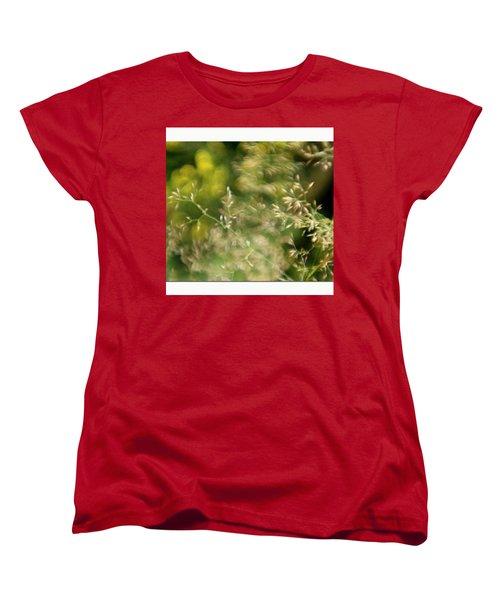 #plasticfantastic #plasticlens #bokeh Women's T-Shirt (Standard Cut) by Mandy Tabatt