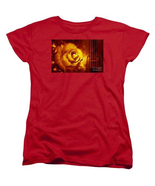 Play A Love Song Women's T-Shirt (Standard Cut)