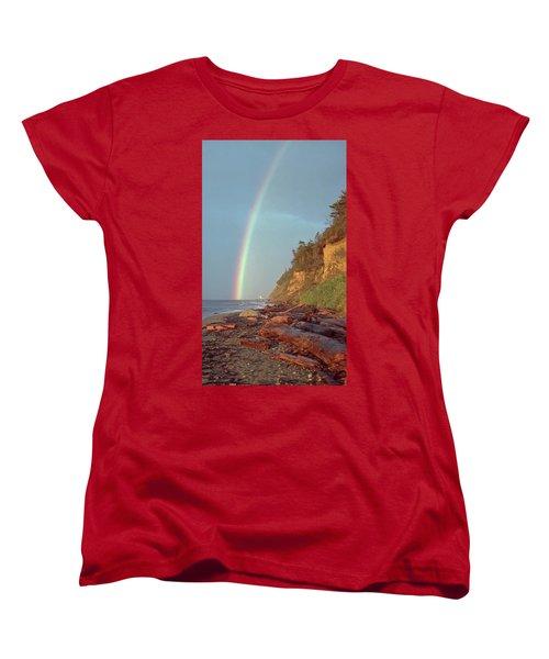 Point Wilson Women's T-Shirt (Standard Cut) by Laurie Stewart