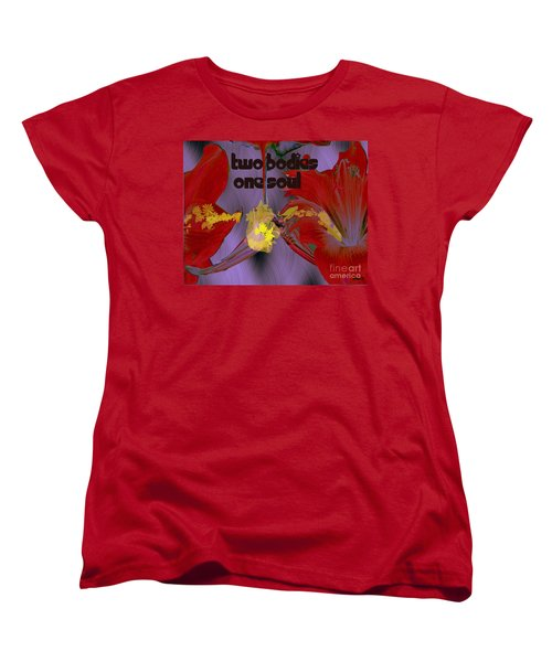 Polinating Women's T-Shirt (Standard Cut) by Irma BACKELANT GALLERIES