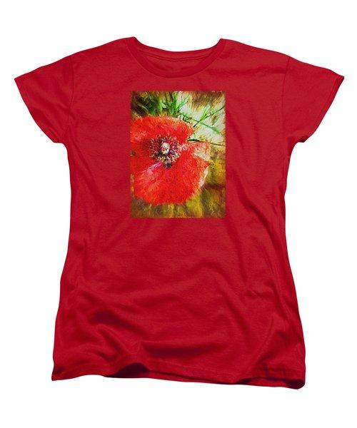 Poppy Variation Too Women's T-Shirt (Standard Cut)