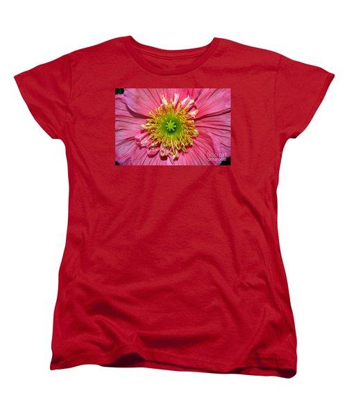 Women's T-Shirt (Standard Cut) featuring the photograph Poppy by Vivian Krug Cotton