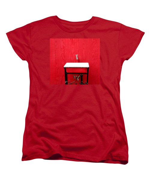 Women's T-Shirt (Standard Cut) featuring the photograph Portal Flow by Marie Neder