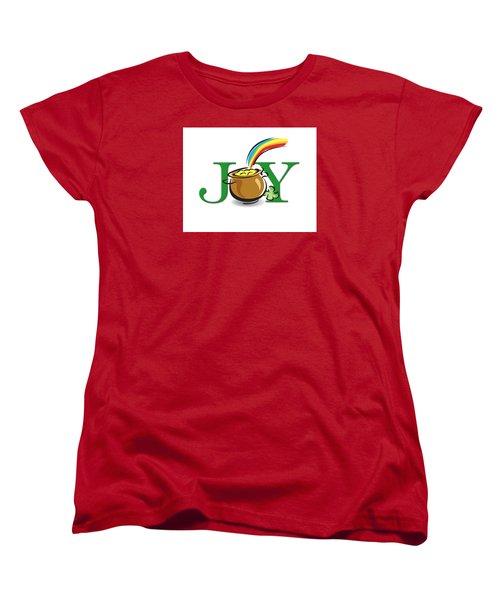 Pot Of Gold Joy Women's T-Shirt (Standard Cut) by Greg Slocum