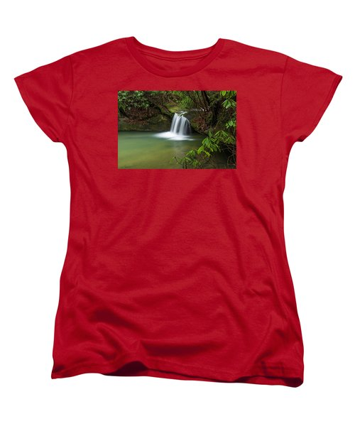 Pounder Branch Falls # 2 Women's T-Shirt (Standard Cut) by Ulrich Burkhalter